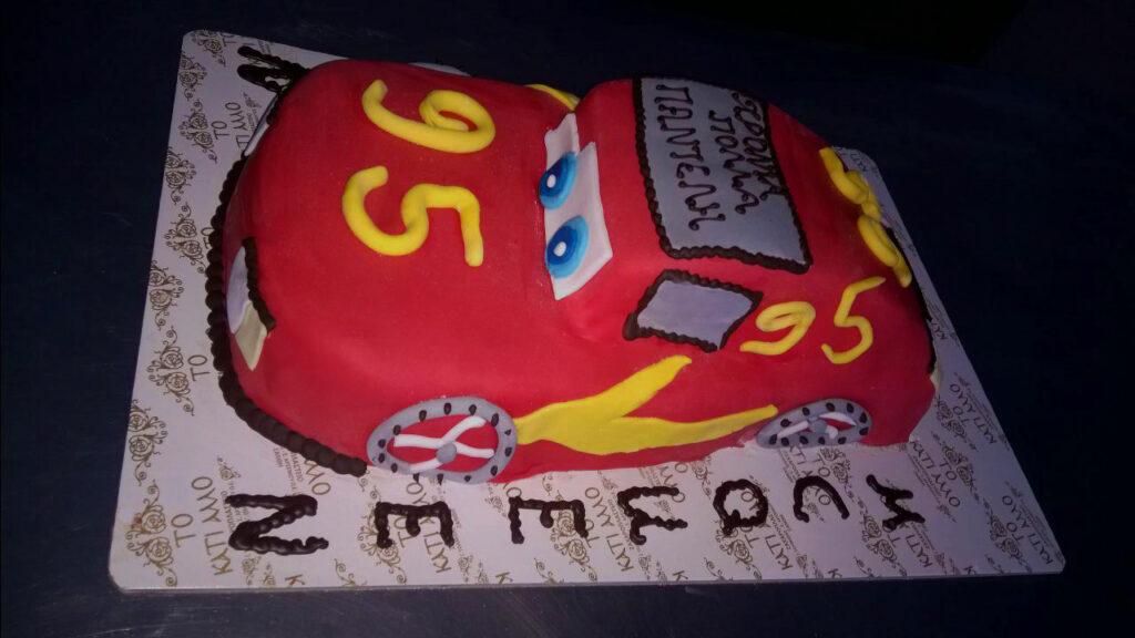 ΤΟΥΡΤΑ McQueen 3d